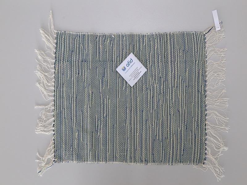Pano individual em algodão