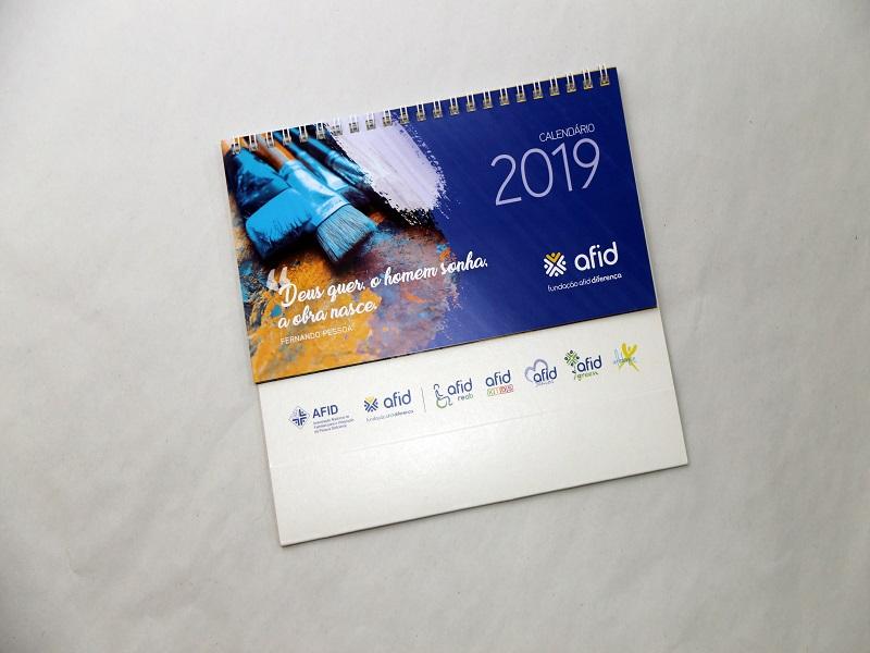 Calendário 2019 - Fundação AFID Diferença