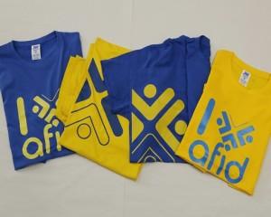 T'shirts Fundação AFID Diferença
