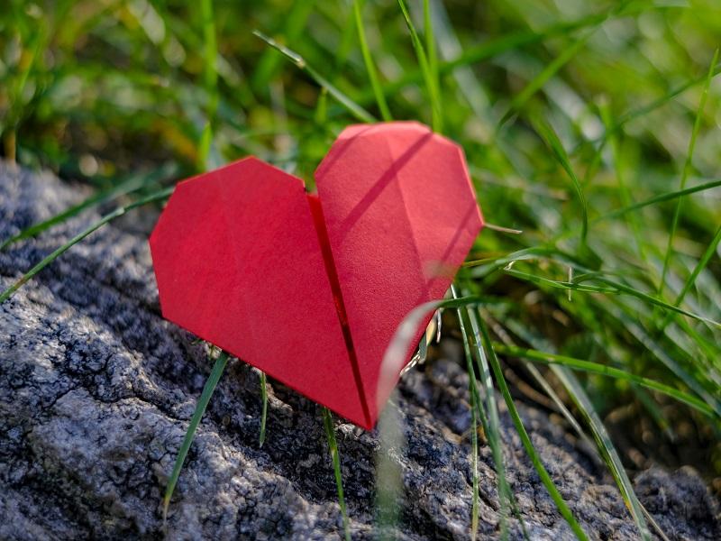 Coração - Apontamento em Papel