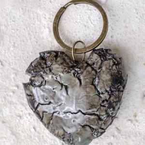 Coração partido – porta chaves
