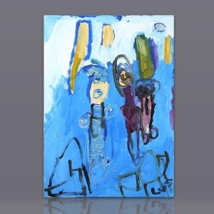 """Pintura acrílico """"Consulta de Maternidade"""""""