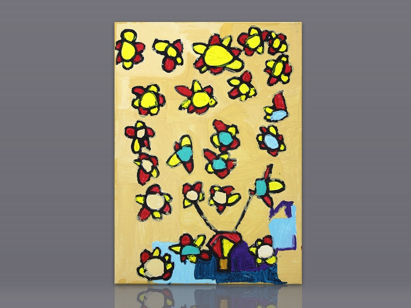 Luís Rosa - Festa das Flores ao vento da Primavera Como Foguetes - 2019 - 50x70cm - 100eur