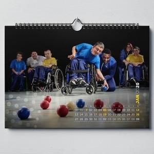 Calendário solidário AFID – 2020 (versão calendário de mesa)