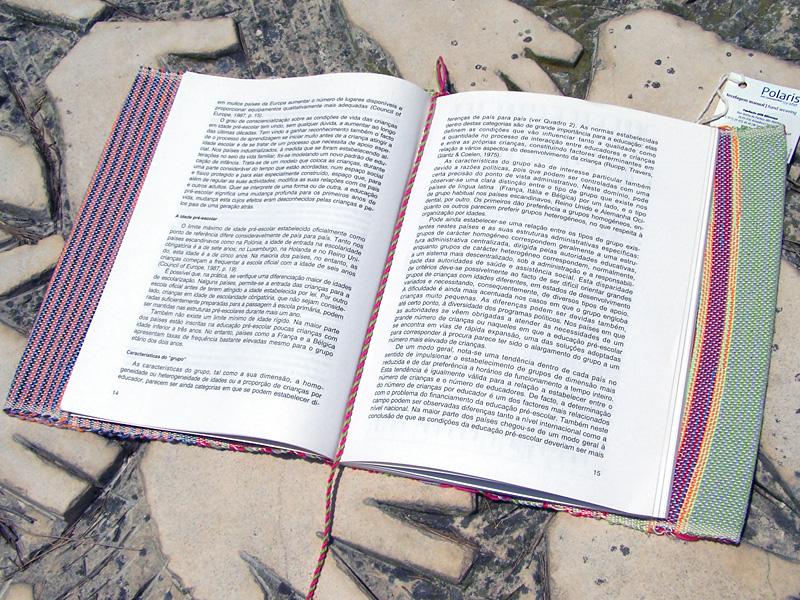 Capa de Livro Lilás/Rosa