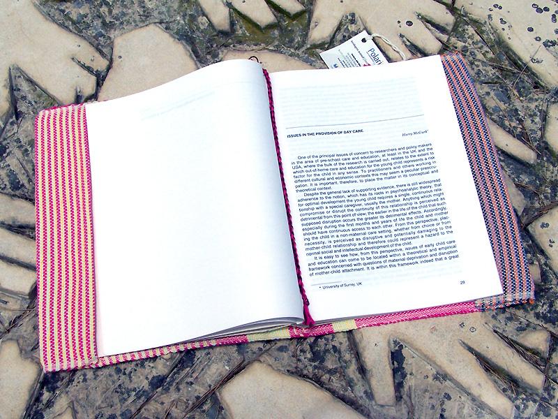 Capa de Livro Rosa/Amarelo