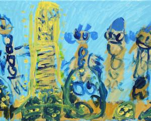 """Pintura acrílico """"Paris"""""""