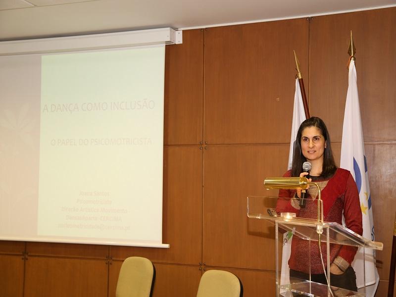 Joana Santos, Psicomotricista da Faculdade de Motricidade Humana