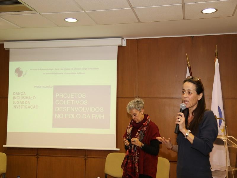 A Doutora Elisabete Monteiro