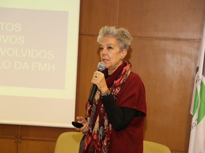 A Prof. Doutora Paula Lebre