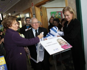Inauguração Auditório Dra. Maria Lutegarda