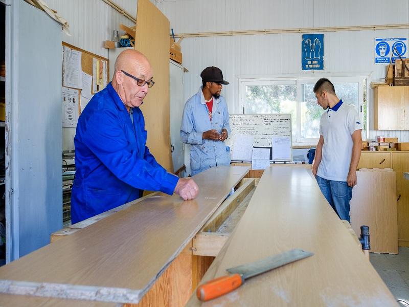Formação Profissional - Restauro e Manutenção de Madeiras